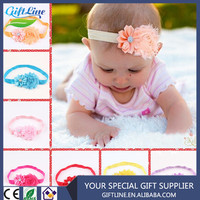 High Quality Baby Hair Accessories Various Flower/ Elastic Headband For Kids Handmade Baby Headbands
