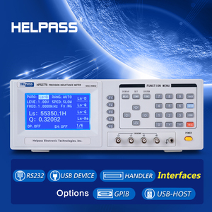 Digital LCR Meter with Continuous Frequency from 30Hz to 200kHz
