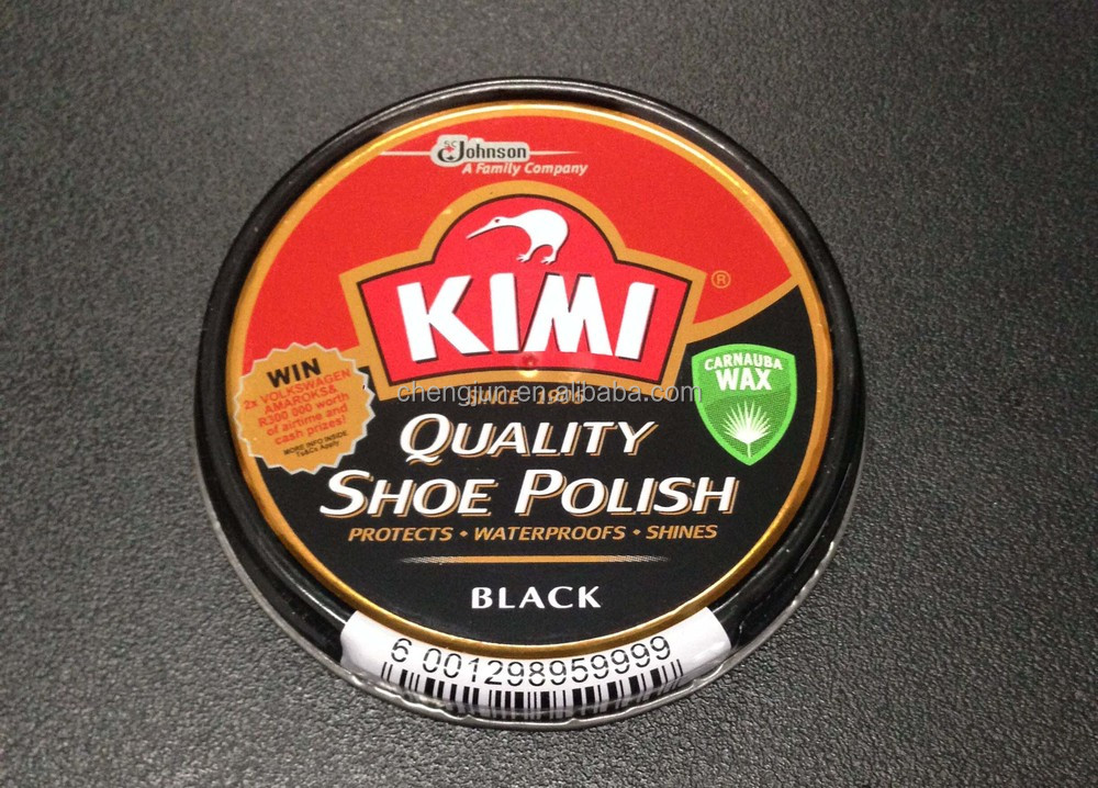 2016 New Design Shoe Shine The Quality World 's No.1 50ml Shoe Polish