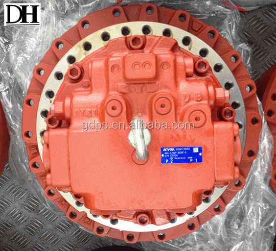 Special offer excavator travel device assy, SH210A5 travel motor final drive assembly