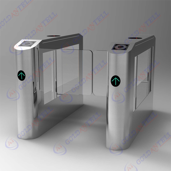 Access control system disabled swing arm gate