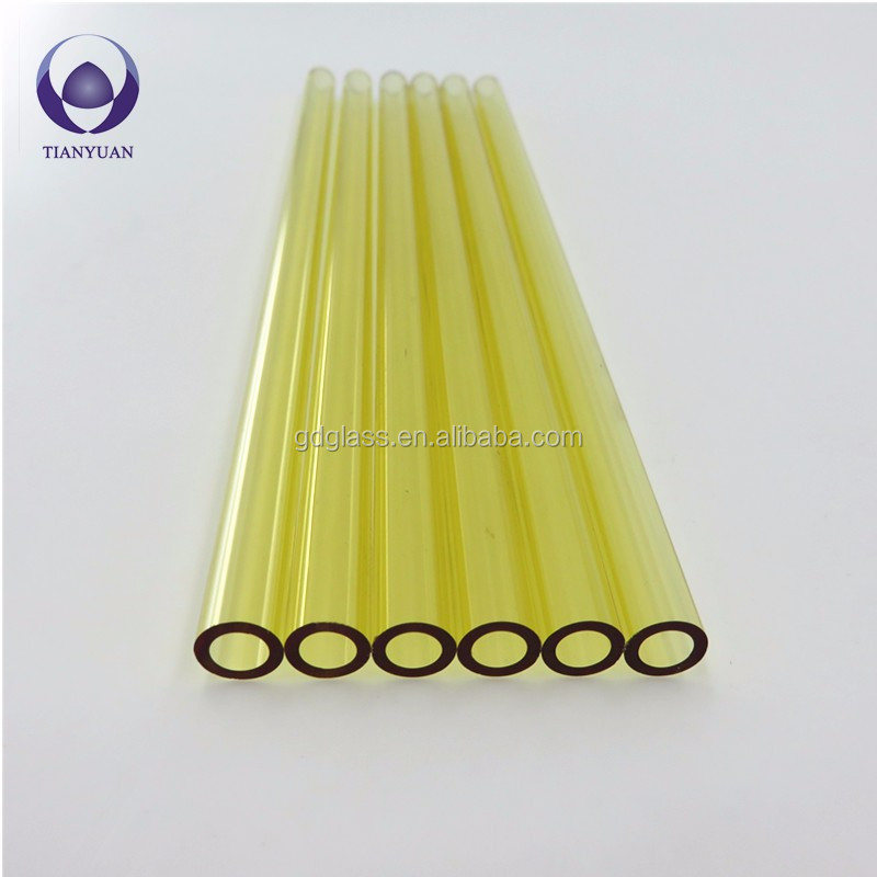 heat resistant decorative glass clear borosilicate glass tubing