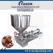 50-500ml Semi Automatic Cream/ Paste/ Ointment Filling Machine/semi automatic plaste filling machine