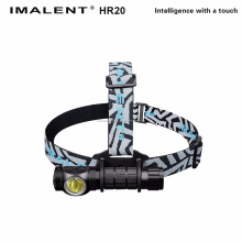 IMALENT HR-20 1xCREE XP-L Hi 1000 Lumens Multi-function Rechargeable LED Headlamp (1x18650/2xCR123A)