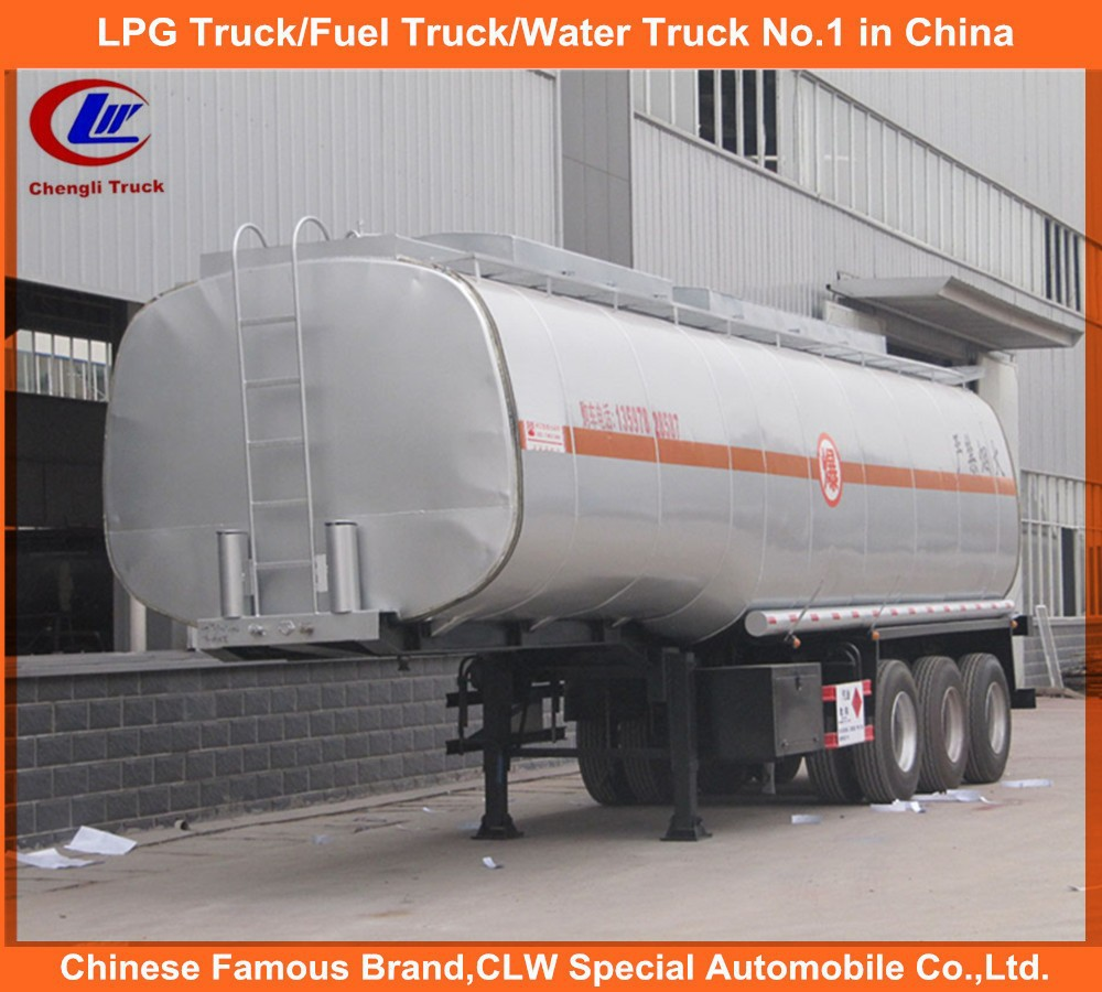 Fuel Semi-Trailer 35T for 40m3 Gas Delivery with Emergency Cut off Valve