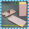 Tenchen foldable stand phone case , the best Magnetic hard case with stand for leather iphone 6 case