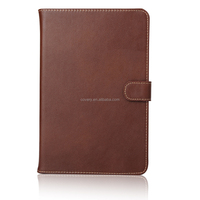For tablet protector case , hot sale genuine leather flip stand case for ipad