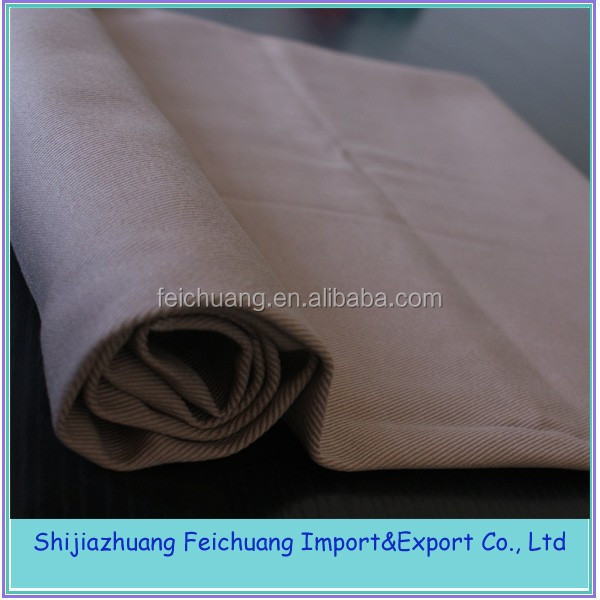 80%pe/20%cotton, twill 3/1fabric , 230 g/m2