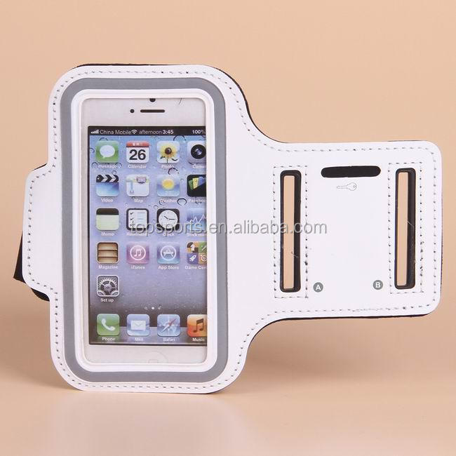 Hot Soft Armband Arm Band Case Waterproof Case Sport Bandage Case for samsung galaxy Note II 2 N7100