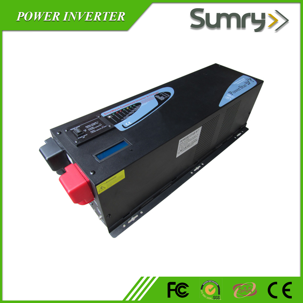 24v 48v 220v DC-AC 5kw inverter with battery charger