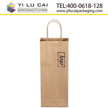 Yilucai eco-friendly brown kraft paper bag with twisted paper rope