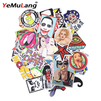 200pcs Mixed Funny Hit Stickers For Kids Waterproof Home Decor Laptop Sticker Decal Fridge Skateboard Doodle DIY Sticker Toy