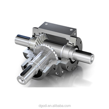OEM industrial reverse gear box, spiral bevel transmission reduction gearbox