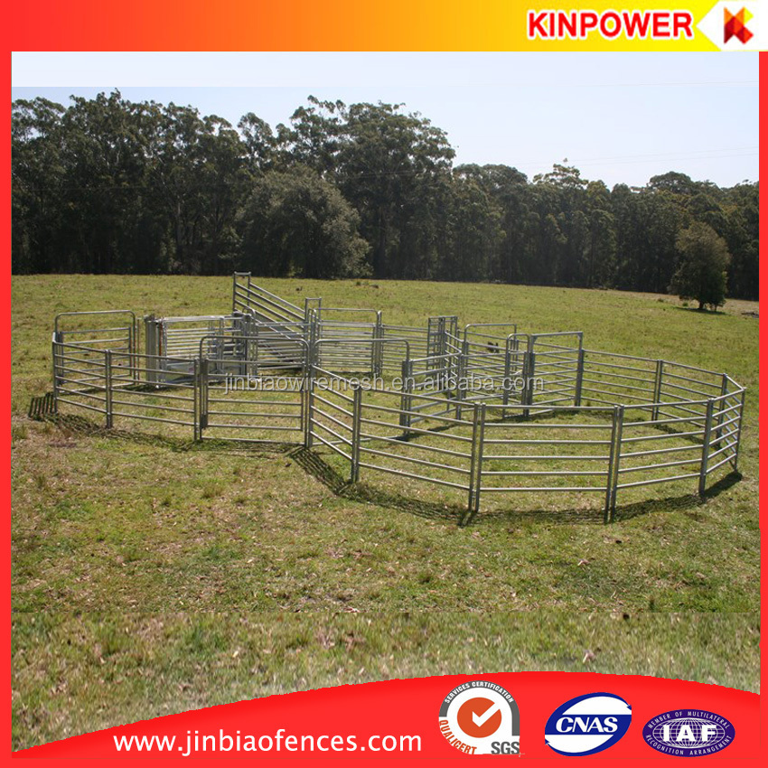 Hot dip galvanized cattle fence panel