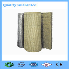 China 2017 Heat Resistant Insulation/Fireproof Mineral/Rock Wool Roll/Blanket Manufacturer