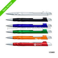 2014 NEW ARRIVE/ Colorful promotional cheap plastic ballpen