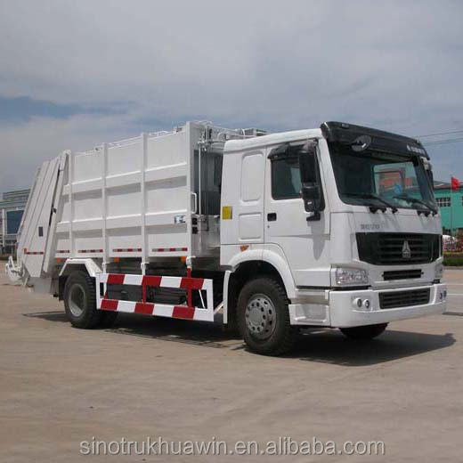 SINOTRUK HOWO Compactor Garbage Truck Prices, Garbage Truck Dimensions Capacity,Garbage Compactor Truck for sale