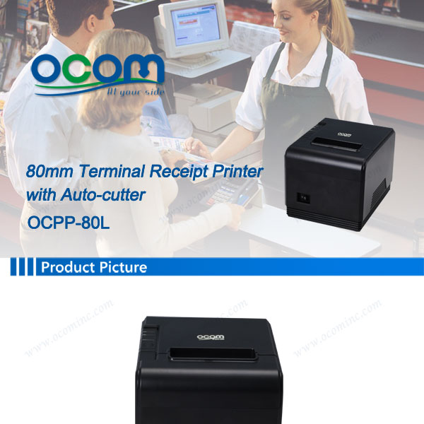 3 Inch Perfect Perfomance USB Thermal Printer Auto Cutter