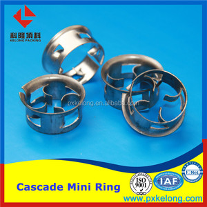 SS304,304L,316,316L,carbon steel Metal Cascade mini ring