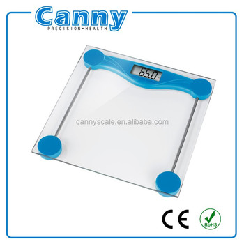 Cheap Bathroom Scale with clear tempered glass