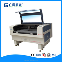 GY 9060 economic double head airplane model laser cutting machine