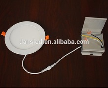 New 9w 12w 18w recessed flat round led panel light down light driver in a control box/case with cETLus list