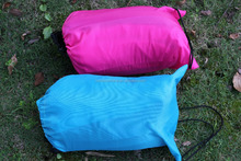 portable outdoor Lightweight air Sleeping Bag Sofa Inflatable air Bean Bag