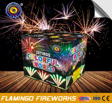 Excellent quality triangle shaped cake firework