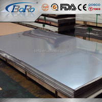 China mainland supplier 304 4' x 8' stainless steel sheets
