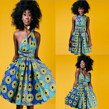 zm23638a wholesale african clothing printed fancy dress women