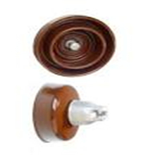 11kv electrical suspension ceramic porcelain pot disc insulator