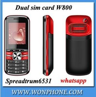 OEM &ODM New arrival dual sim card phone 1.77inch high quanlity W800 mobile phone with whatsapp