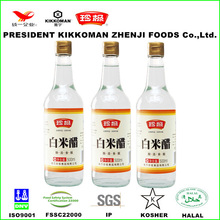 500ml glass bottle hot cooking white rice vinegar