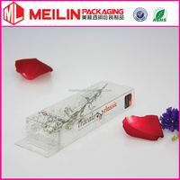perfume bottle transparent box
