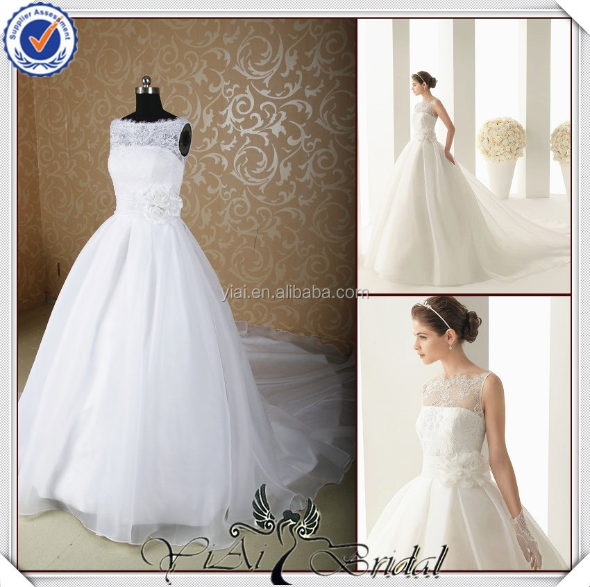 JJ3659 removed long train ball gown wholesale wedding dresses new york