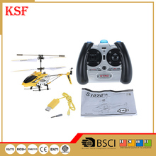 Syma S107G China supplier wholesale mini rc 3.5CH helicopter with multi-color