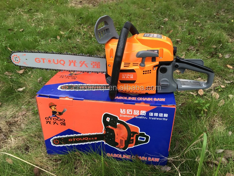 GTOUQ new design best selling gasoline chainsaw petrol saw 5800