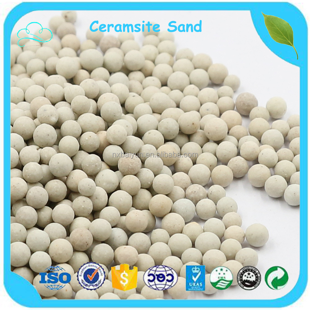 Professional Manufacturer Supply 3-5mm Ceramsite Sand For Soil Improvement