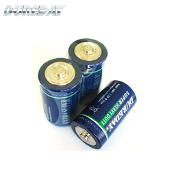 Nice design and quality 1.5v c size r14 um2 1200MAH zinc carbon battery