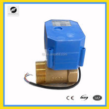 TF high quality mini motorized ball valve for water treatment CWX-60P 2way