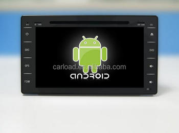 2 din Toyota Hilux 2015 car for android 6.0 car dvd gps with