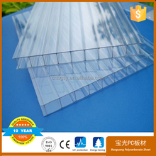 roof sheet with anti-drop UV50MU POLYCARBONATE
