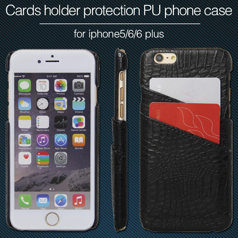 China market wholesale cell phone case the newest style for iphone 6 case wallet ,PU leather mobile phone case