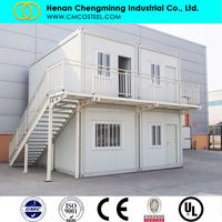 Ready made economic prefabricated houses cheap prefab homes for sale india/spain/german wholesale in china
