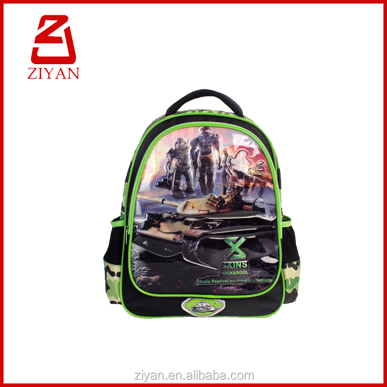 kids cartoon picture of school bag for the POP kids bag
