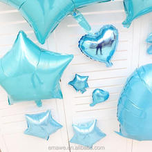 18inch blue color star/heart foil balloon