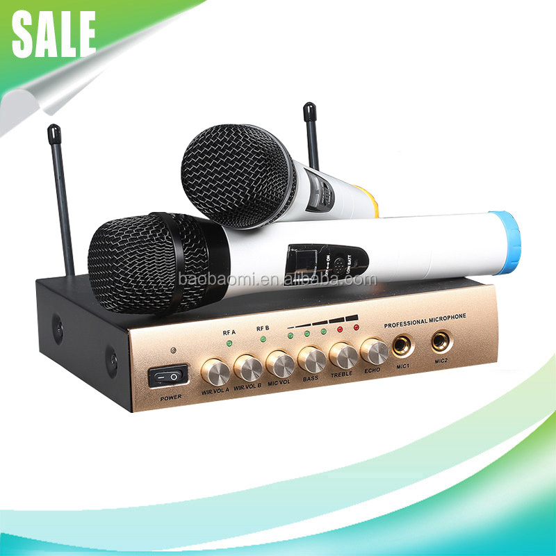 Enping Microphone S-16 Wireless Microphone With Reverb Tuning Karaoke Mic KTV Microphone
