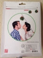 "Cute Mistletoe Christmas Holiday Kissing Ball With 30"" Extendable Stick"