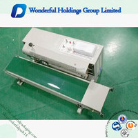 110v/220v voltage semi-automatic plastic packaging bag heat sealing machine