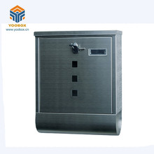 YooBox Quality Assured Steel Mailbox Cabinet Made in China For Modern Apartment